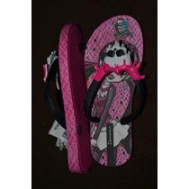 Ojotas Monster High Ipanema Original Importadas Brasil