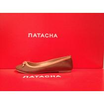 Balerina Cuero Suela #3020 - Natacha