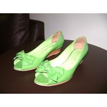 Zapatos / Chatitas De Mujer Marca Viento Y Marea Talle 38