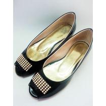 Zapatos Chatas Chatitas Ballerinas Calzado De Mujer