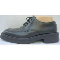 Zapatos Escolar Coelgial 38 Eco-cuero Negro (ana.mar)