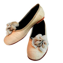 Clippate Chatitas Ballerinas Zapatos Nude Gasa Civil Novias