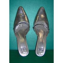 Sundborn Zapatos Fiesta Cuero Plateados N 39 Olivos Vea