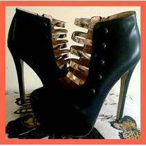 Preciosos Zapatos Tipo Botitas Importados 2015!!!