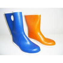 Botas De Lluvia De Mujer Caucho Rayuela Calzados!