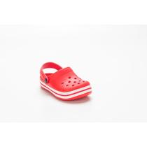 Suecos Con Banda - Sandalias - Zuecos De Goma Niños T/ Crocs