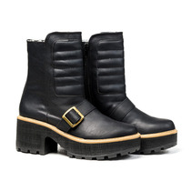 Borcego Borceguito Mujer Zapatos Ecologico Almacen De Cueros