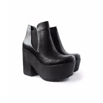 Envio Gratis Bota Alta Cuero Plataforma Zapato Invierno 2016