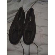 Zapatos De Cuero Marrones Primera Marca