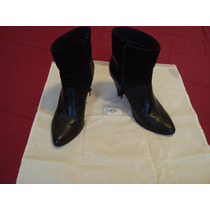 Blaque Botas Cuero Y Gamuza N°37 30% Off Alice Sale!