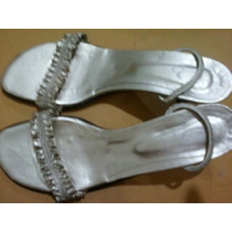 Sandalias Doradas Número 39 Para Fiesta O Vestir Finísimas