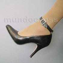 Nuevo! Zapatos Mod. Vedette Taco Alto 5 Pulgadas Nº 41 Al 46