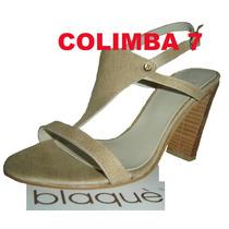 ¡¡ Blaque !! Sandalias 100%cuero Camel Nuevas N°37 Original