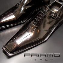 Zapatos Vestir Cordón Calados Priamo Italy Hombre [px000120]