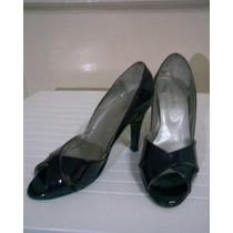 Zapatos Uva Modelo De Temporada Taco Fino De 8 Cm Nº 36