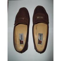 Zapatos Bajos Tipo Mocasin
