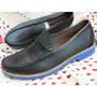 Zapato Mocasin Hombre Nº 43 Cuero Nuevo Boating 713enanitos