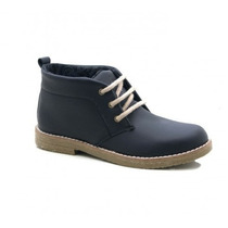Botita De Cuero - Zapato Con Cordones - Otoño / Invierno