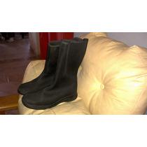 Botas De Tela Elastizada ½ Caña Negras Talle 39 !!!.