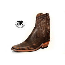 Botas Texanas - Jr Boots & Shoes - Art. 6046 Fl Marro