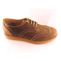 Zapatos Hombre Cuero Base Goma Plantilla Cuero Vestir Sport