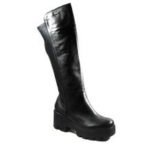 Botas Mujer Invierno Zapatos Anca Y Co Elastizada Alta 8008