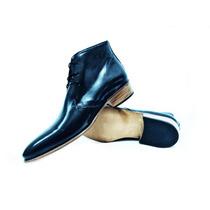 Zapato/botita Hombre 100% Cuero Vacuno