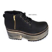 Botas De Mujer Zinderella Shoes Numeros 41 42 43 Art Dina