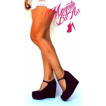 Zapatos Sandalias Con Plataforma Taco Chino