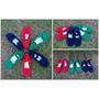 Guillerminas Al Crochet Con Aplique De Flor Y Suela Pvc