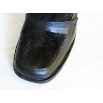 Zapatos De Vestir Modernos Con Piel