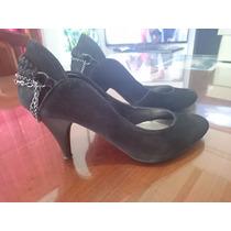 Zapatos Tacos Altos Mujer