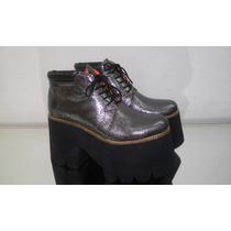 Zapatos Zuecos Glitters,metalizados,print Reptil Art 1390