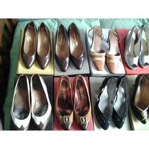 Lote De Zapatos De Mujer Usados De Vestir