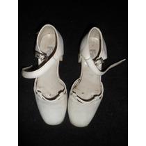 Zapatos Ferli Blancos Para Niña De Comunion Nuevos