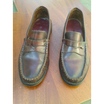 Zapato Mocasin Cuero Doble Suela Goma Nº 44