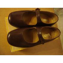Zapatos Nena 25 Marca Grimoldi Pie Tutoris Marrón Puro Cuero