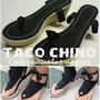 Pascalinas Plataformas Taco Chino , Con Pañuelo Negro