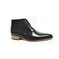 Zapato/botita De Hombre Cuero Legítimo