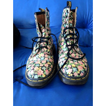 Dr Martens 5 Uk Floreadas