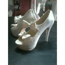 Zapatos Para Fiestas 15 Años Blancos