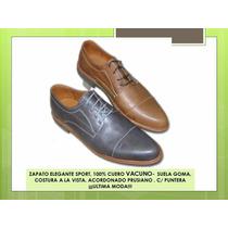 Zapato Elegant Sport- Puntera Cuero 100% ¡¡ultima Moda!!
