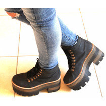 Borcegos Botineta Plataforma Bota Zapato Mujer Invierno 2016