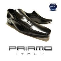 Zapatos Cuero Hombre Priamo Italy Pespunte [px000877]