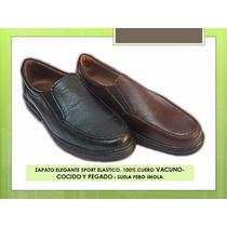 Zapato Elegant Sport Elastico- Cuero 100% - Comodos!!!