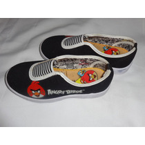 Bubble Gummers Originales Zapatillas Alpargatas Angry Birds
