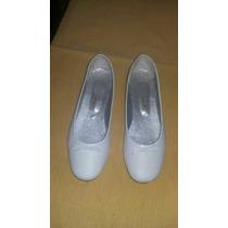 Zapatos De Nena Balerina 37. Ideal Comunion. Un Sólo Uso