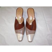 Sandalia Dama Combinacion De 3 Colores Nro 38 670$