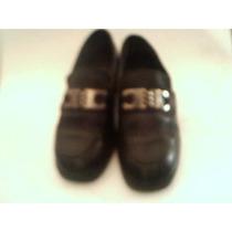 Zapatos De Mujer Tipo Mocasín Con Taco