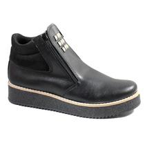 Borcego Mujer Plataforma Zapato Tachas Invierno Cierres 210
